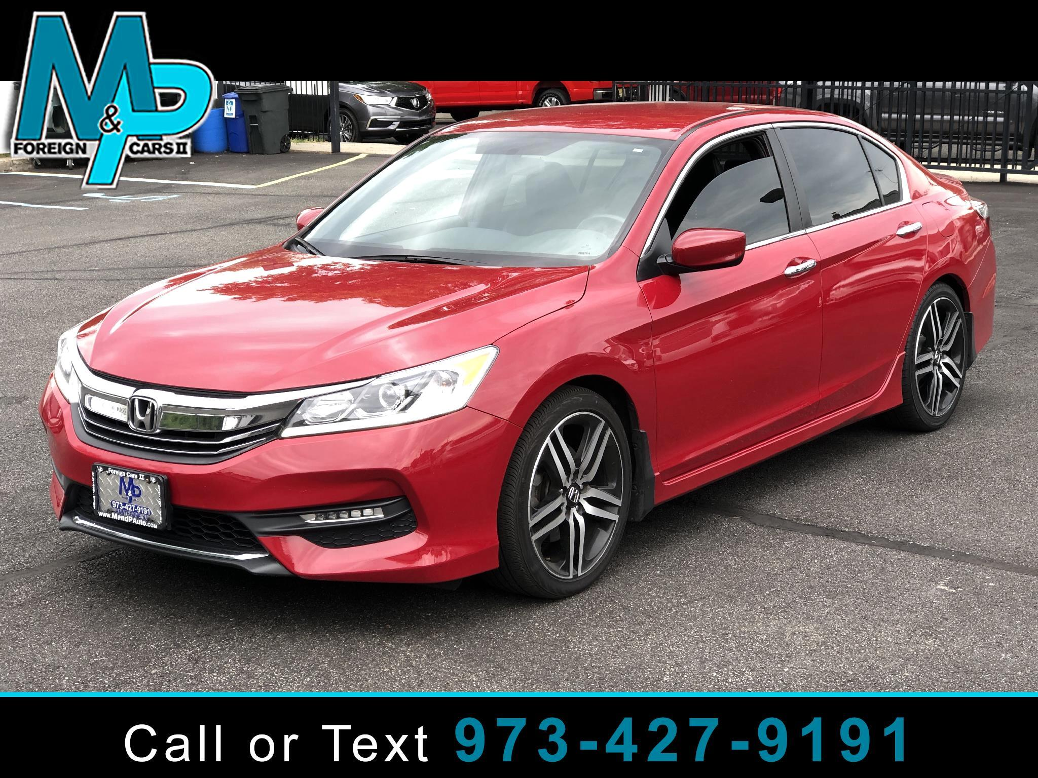 Honda Accord Sedan 4dr I4 CVT Sport 2016