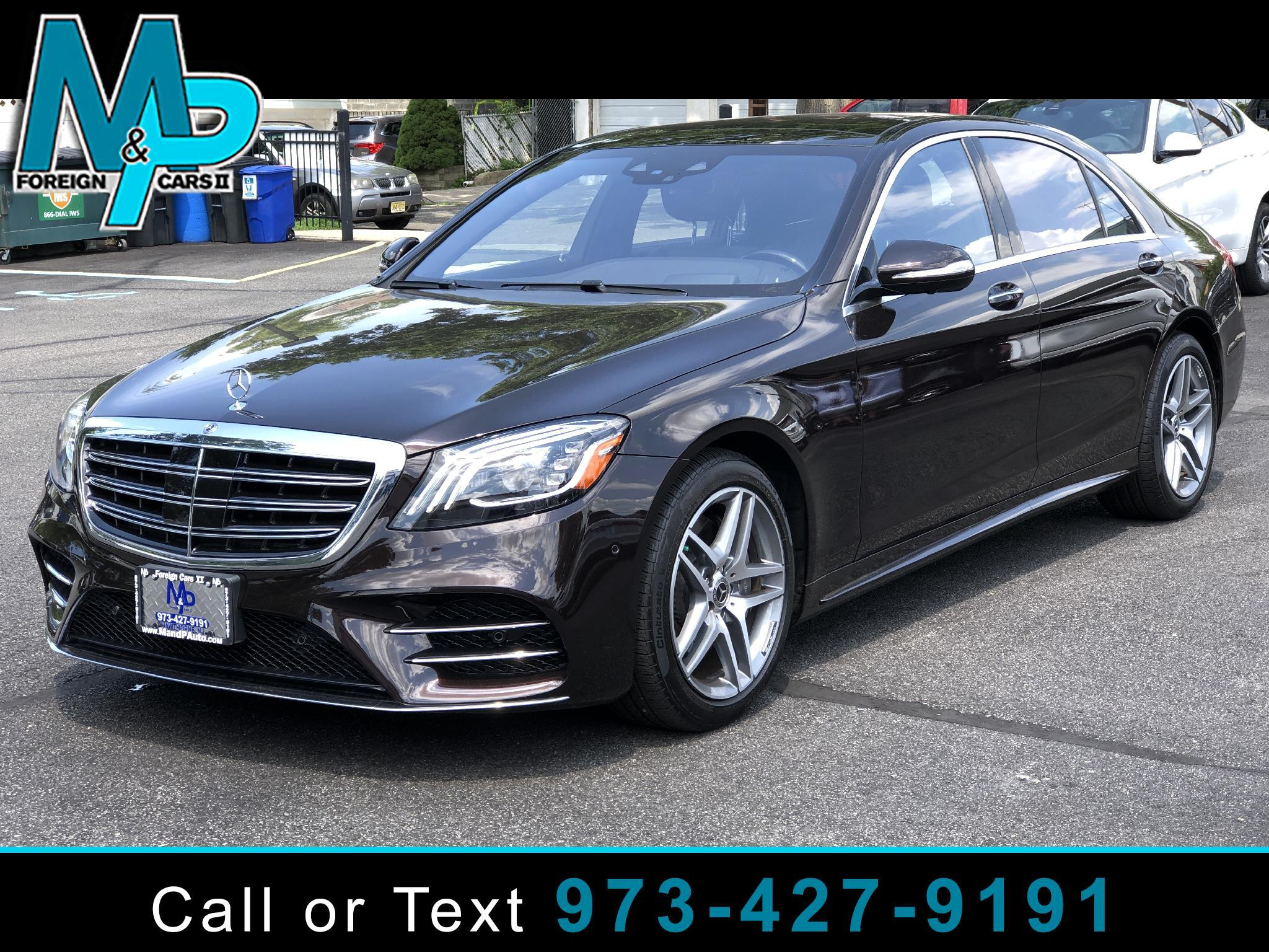 Mercedes-Benz S-Class S 560 4MATIC Sedan 2019