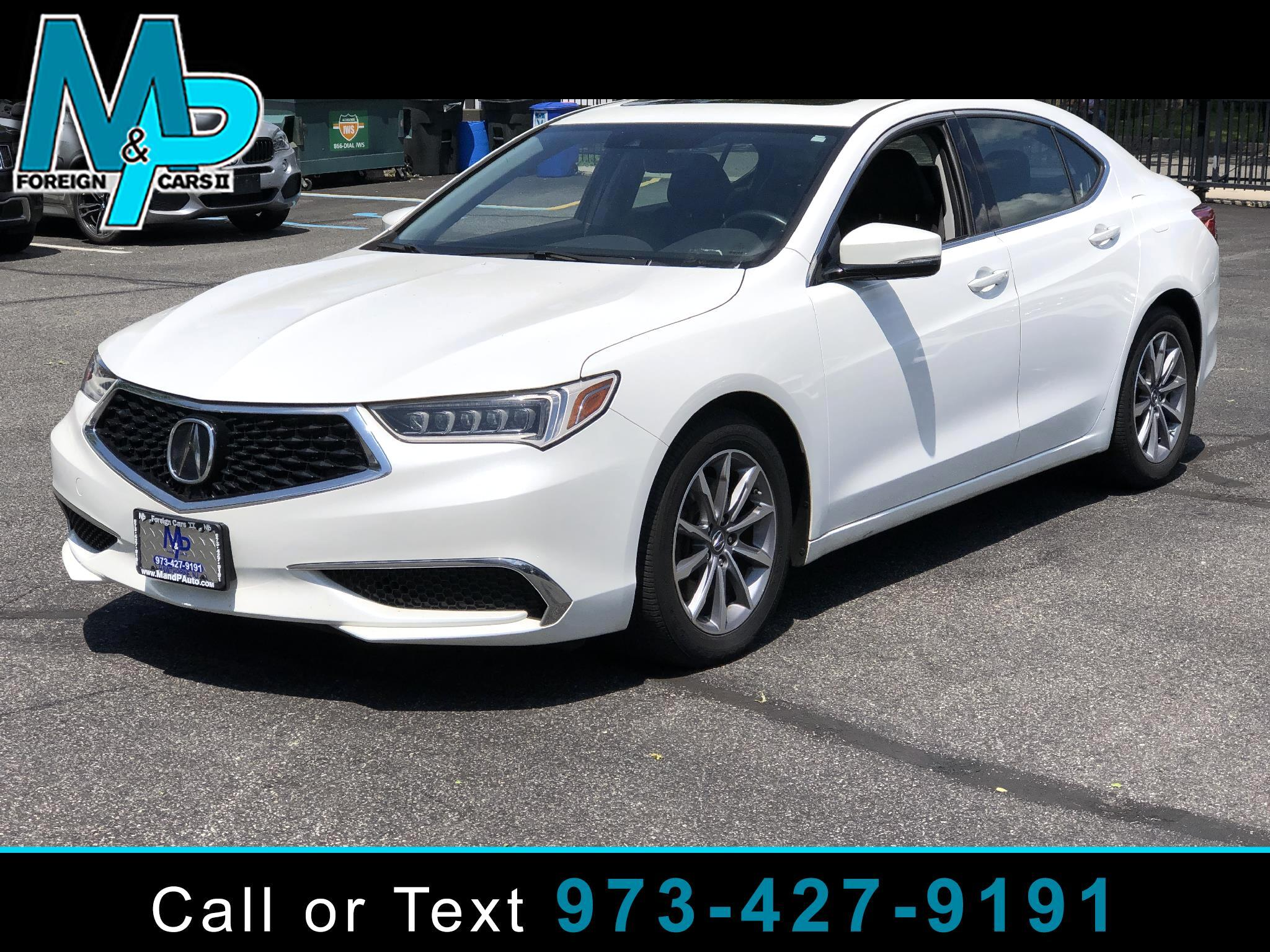 Acura TLX 2.4L FWD 2018