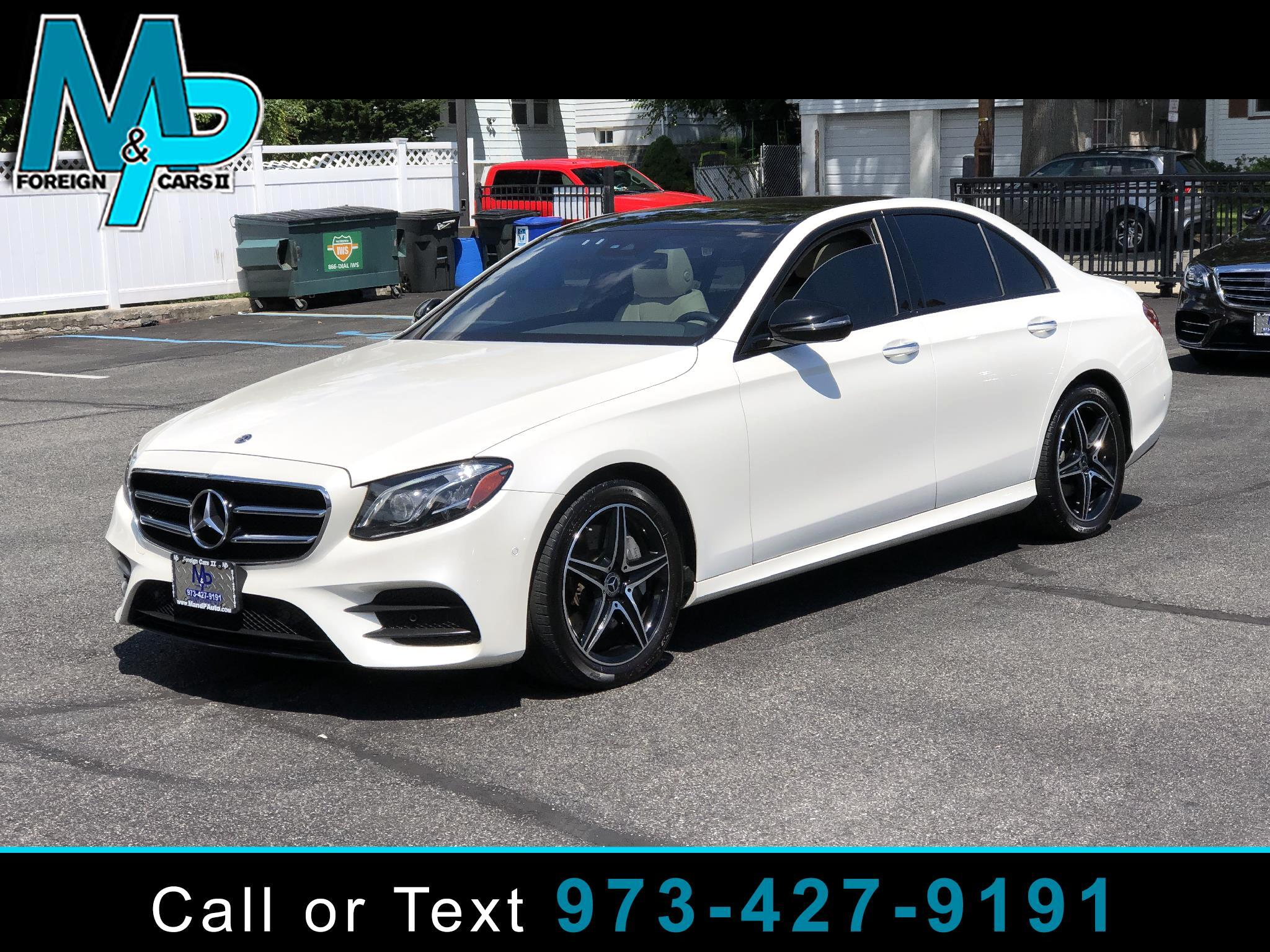 Mercedes-Benz E-Class E 300 4MATIC Sedan 2018
