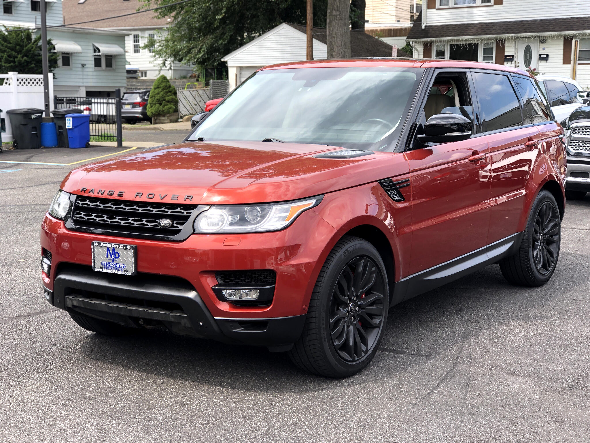 Land Rover Range Rover Sport 4WD 4dr Supercharged 2014