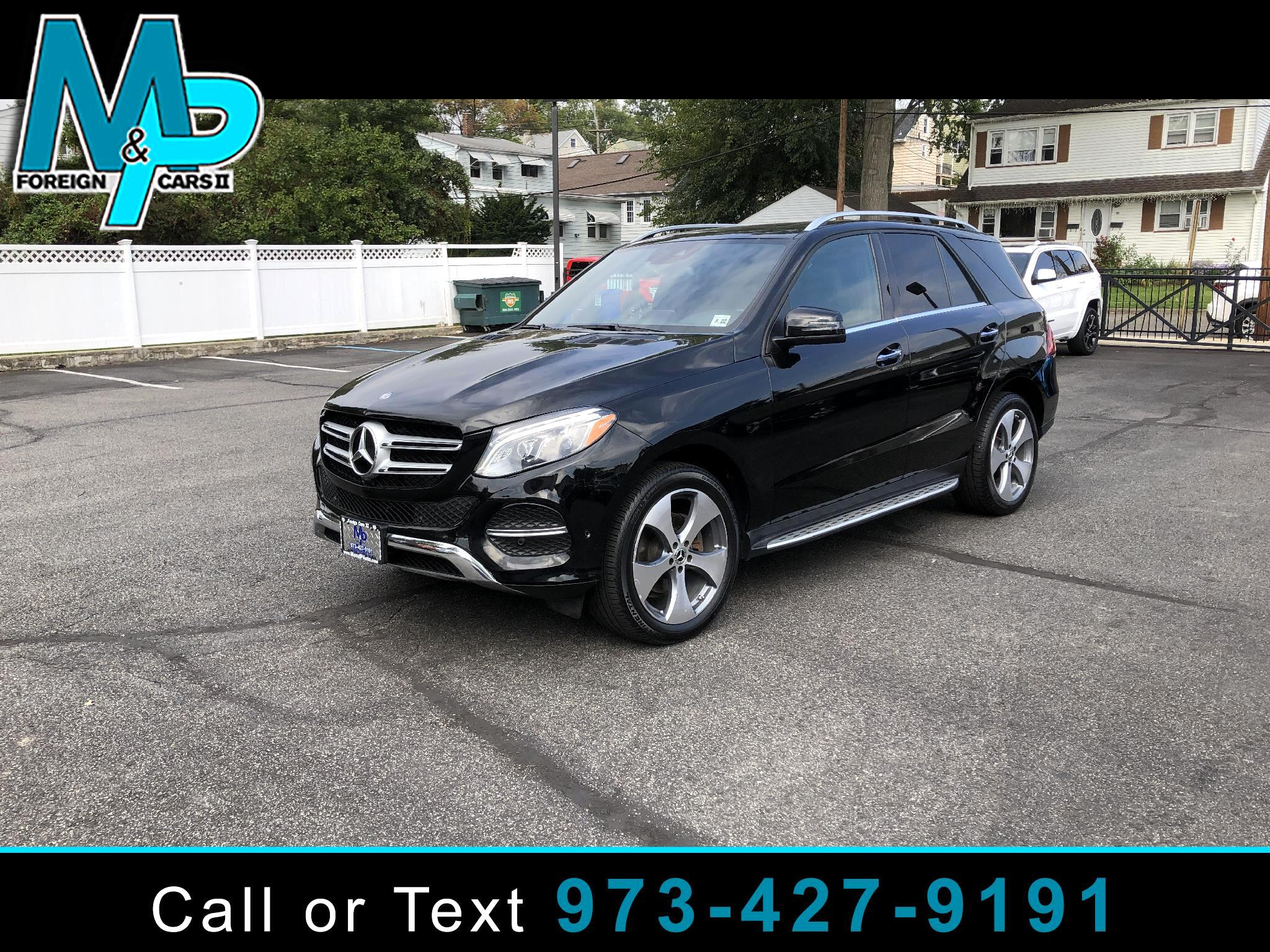 Mercedes-Benz GLE GLE 350 4MATIC SUV 2017