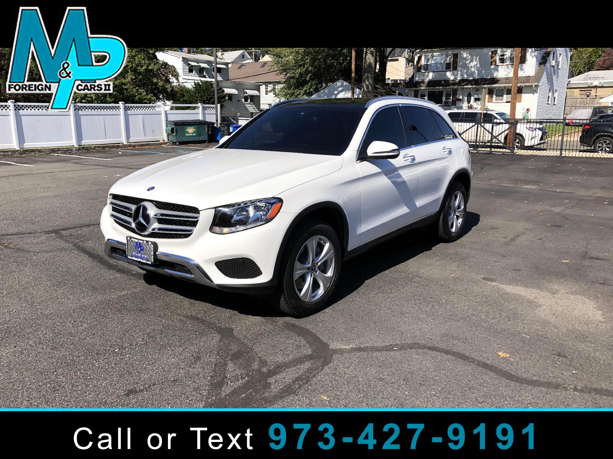 Mercedes-Benz GLC GLC 300 4MATIC SUV 2017