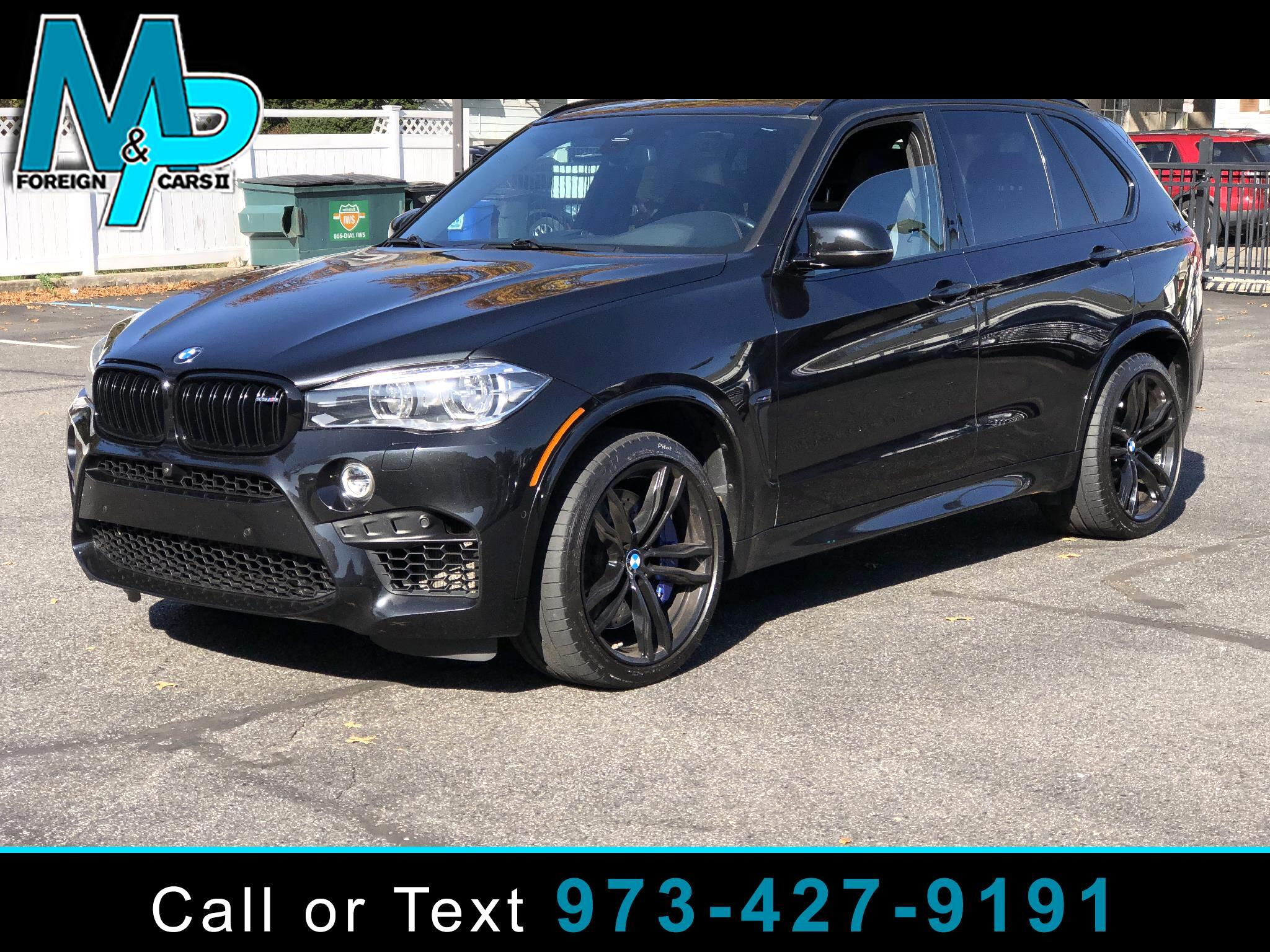 BMW X5 M Sports Activity Vehicle 2018