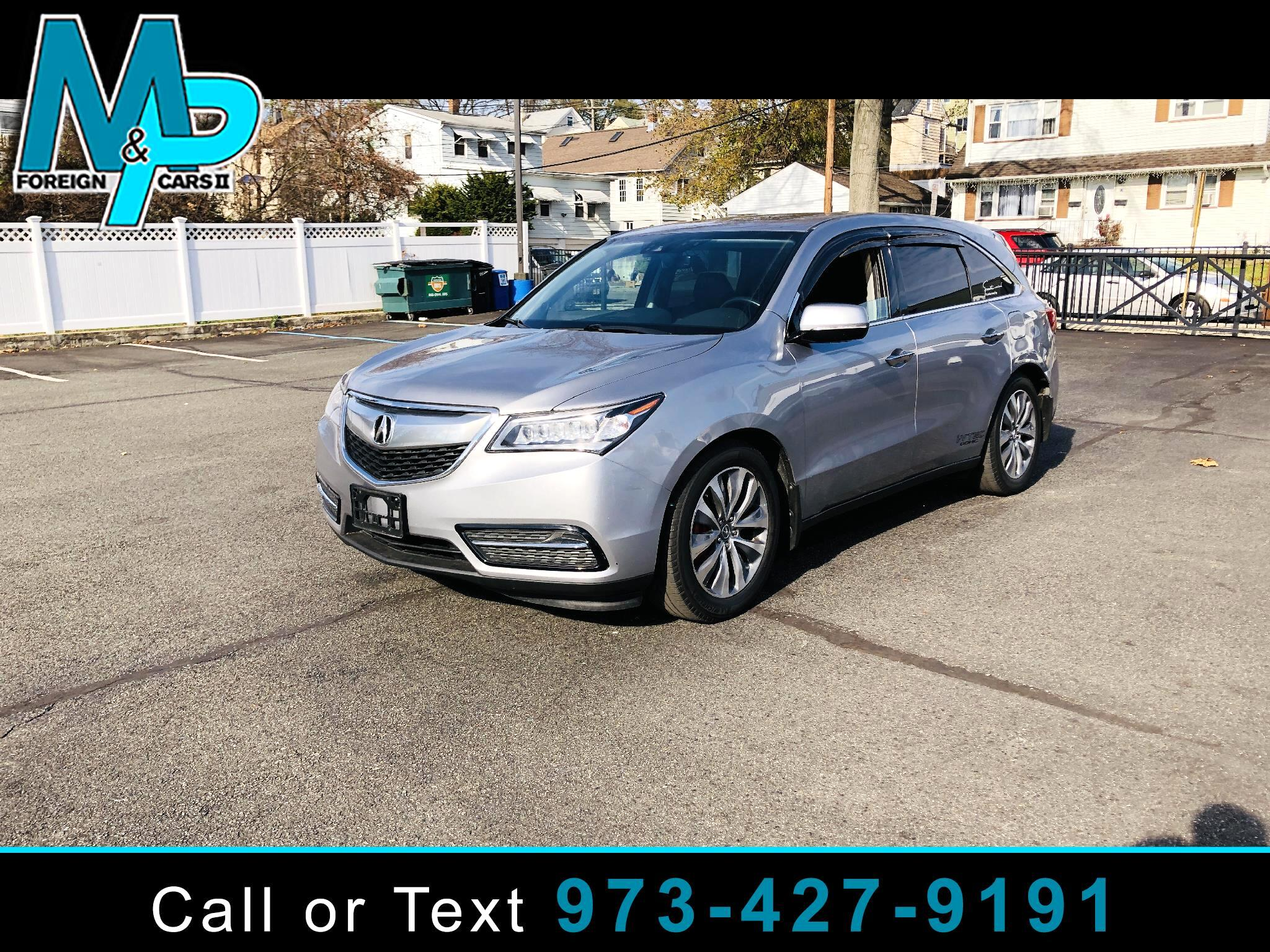 Acura MDX SH-AWD 4dr w/Tech/AcuraWatch Plus 2016