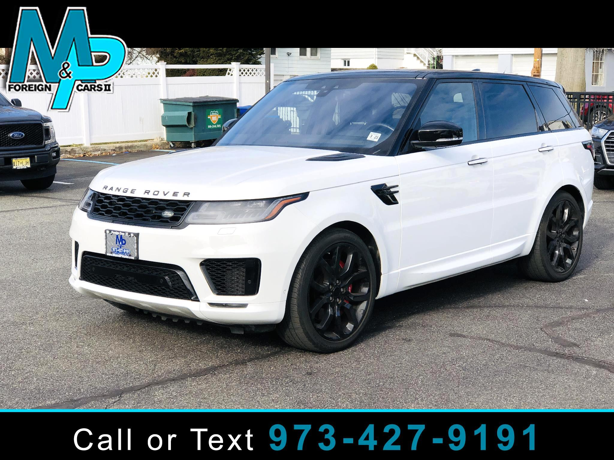 Land Rover Range Rover Sport V6 Supercharged HSE Dynamic 2018