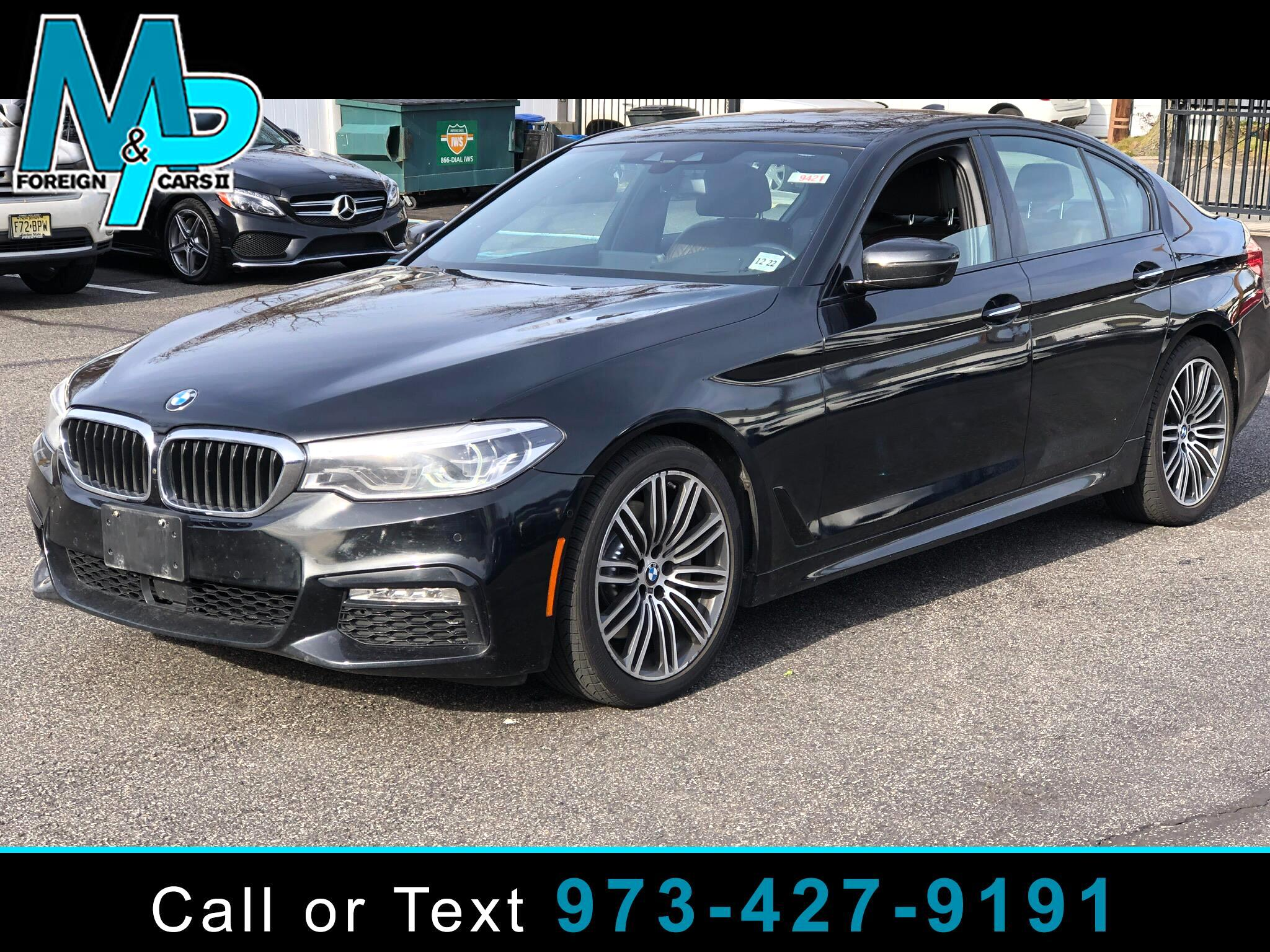 BMW 5 Series 540i xDrive Sedan 2018