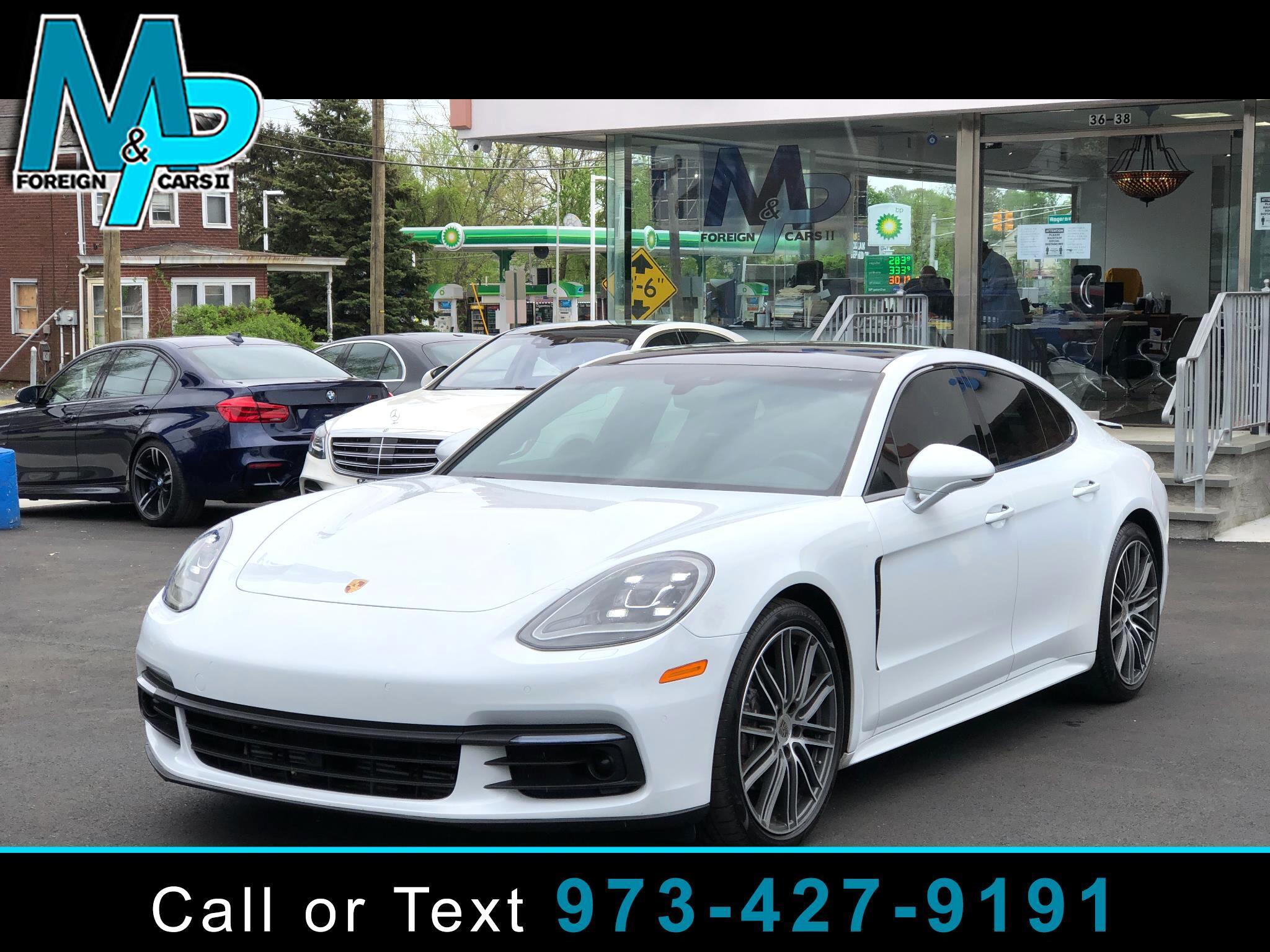Porsche Panamera RWD 2018