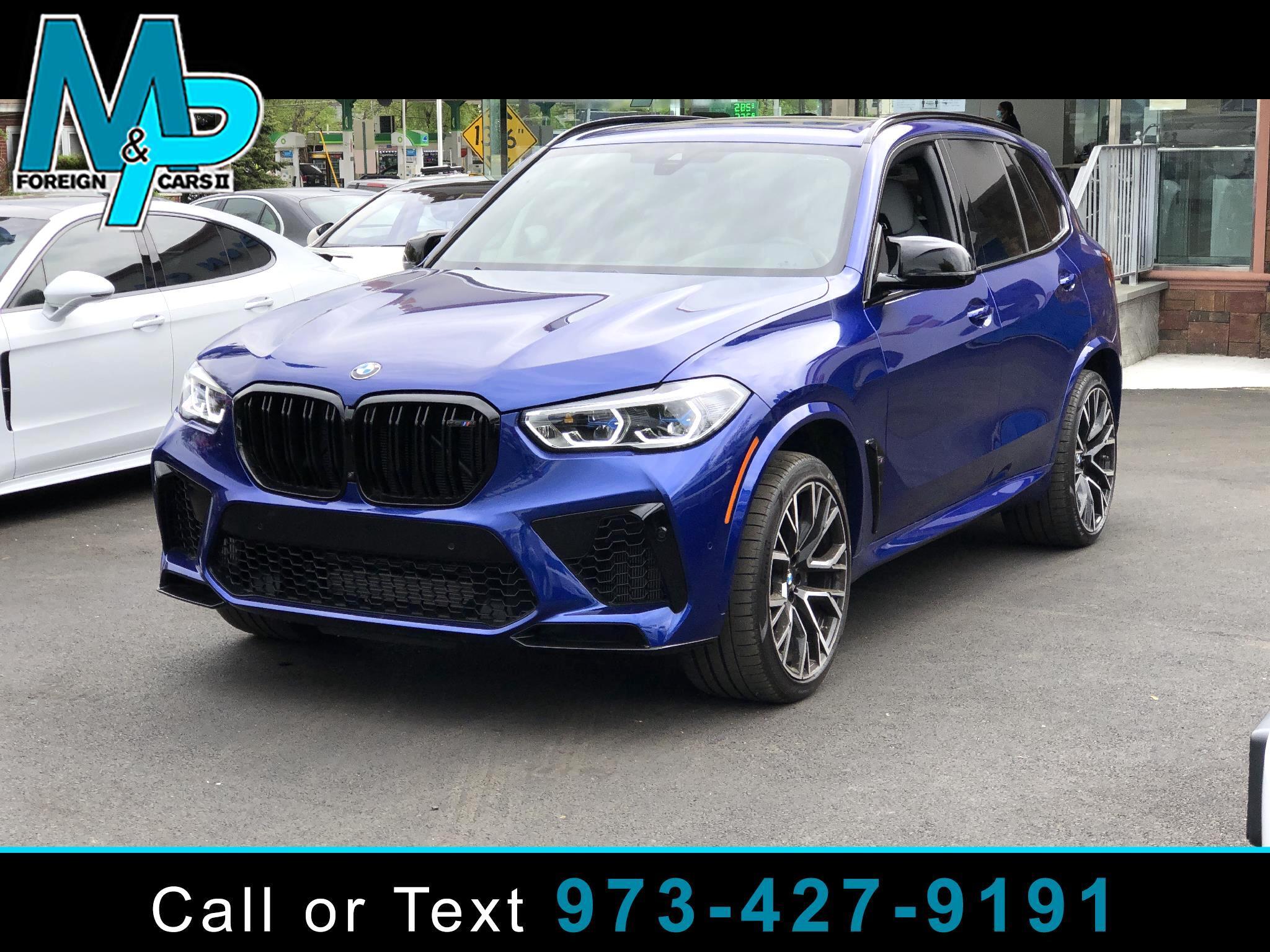 BMW X5 M Sports Activity Vehicle 2021