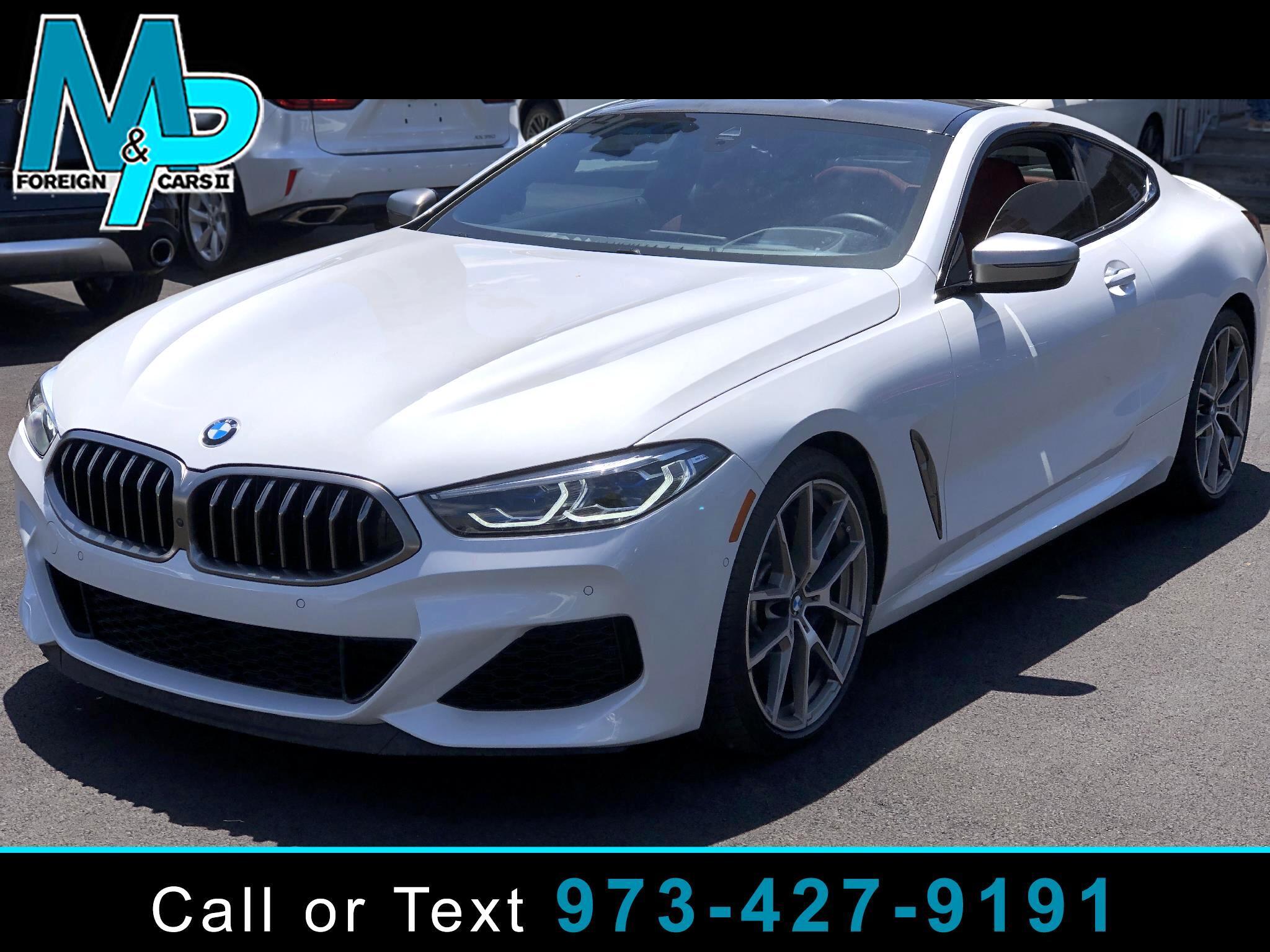 BMW 8 Series M850i xDrive Coupe 2019