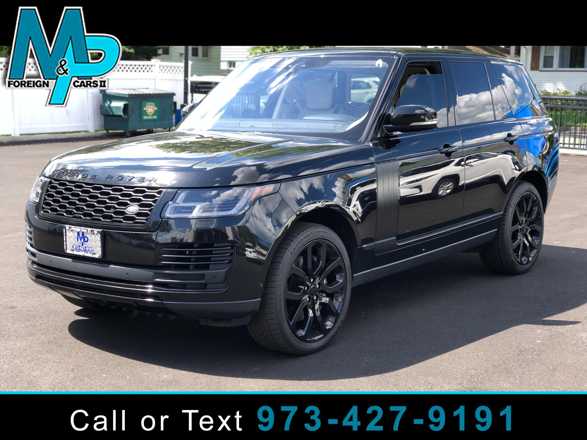 Land Rover Range Rover V8 Supercharged SWB 2018