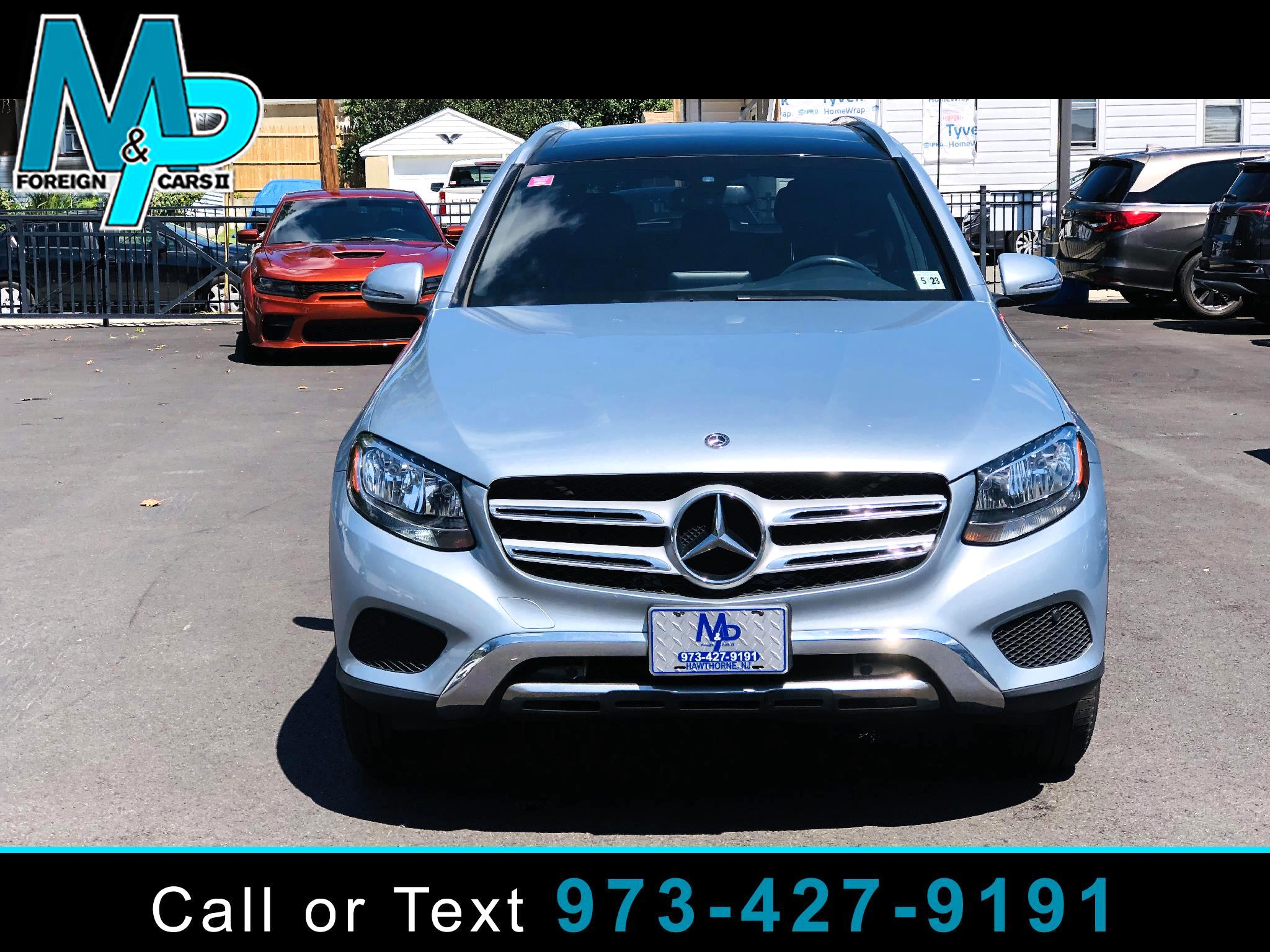 Mercedes-Benz GLC GLC 300 4MATIC SUV 2018