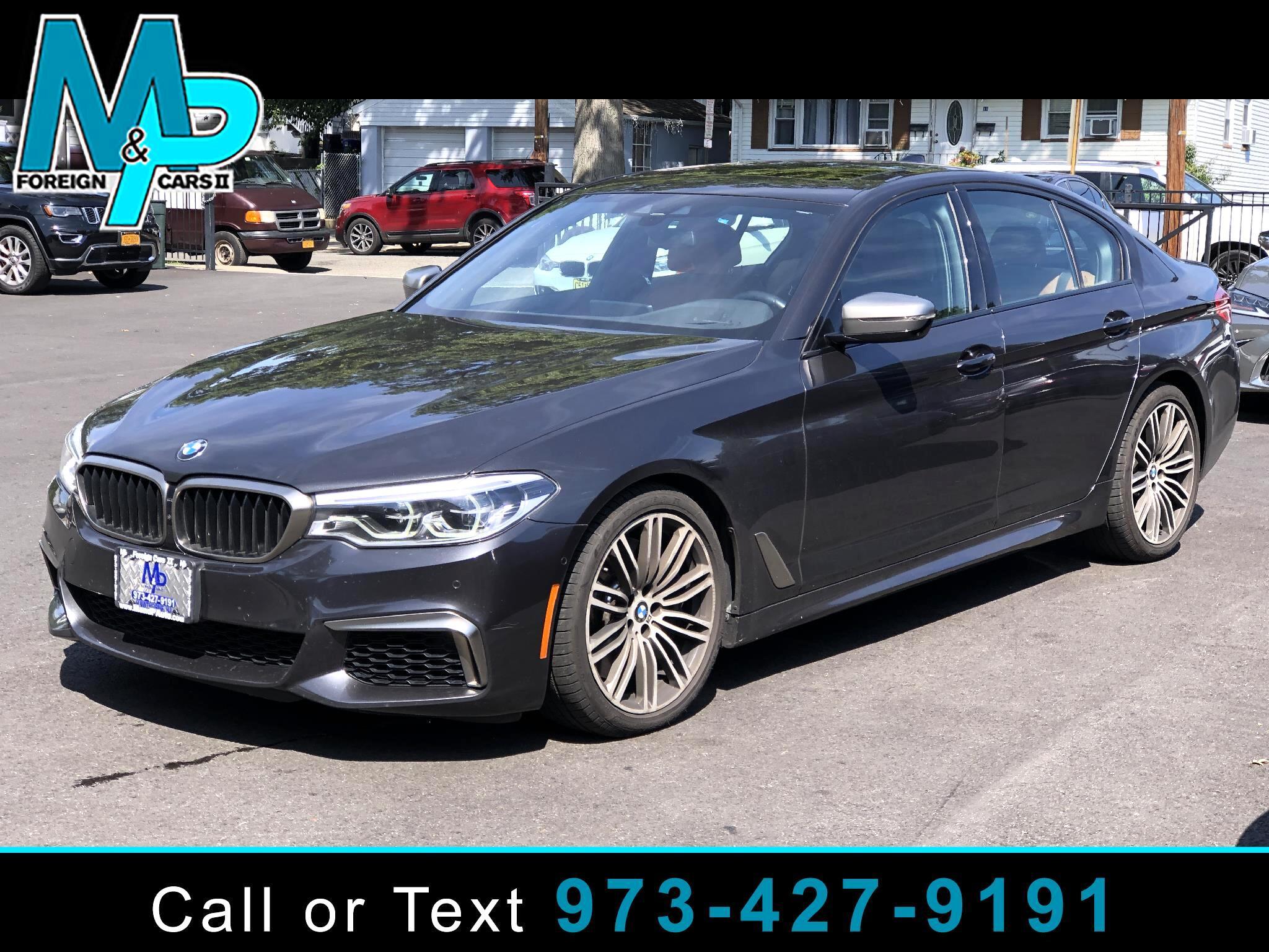 BMW 5 Series M550i xDrive Sedan 2019