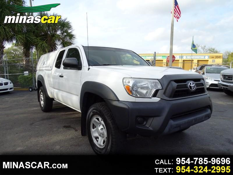 Toyota Tacoma PreRunner Access Cab I4 4AT 2WD 2015