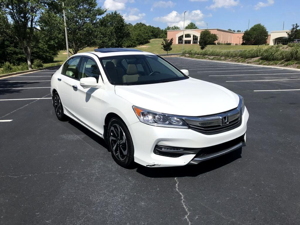 Honda Accord EX-L Sedan V6 6-Spd AT 2017