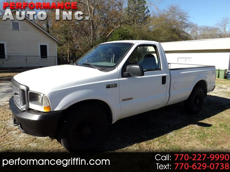 "2003 Ford Super Duty F-250 Reg Cab 137"" XLT"