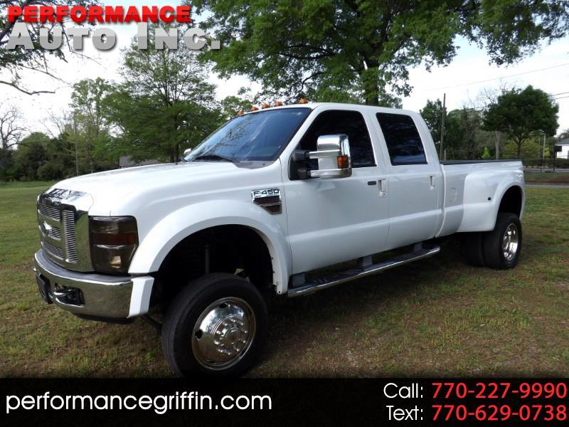 "2008 Ford Super Duty F-450 DRW 4WD Crew Cab 172"" King Ranch"