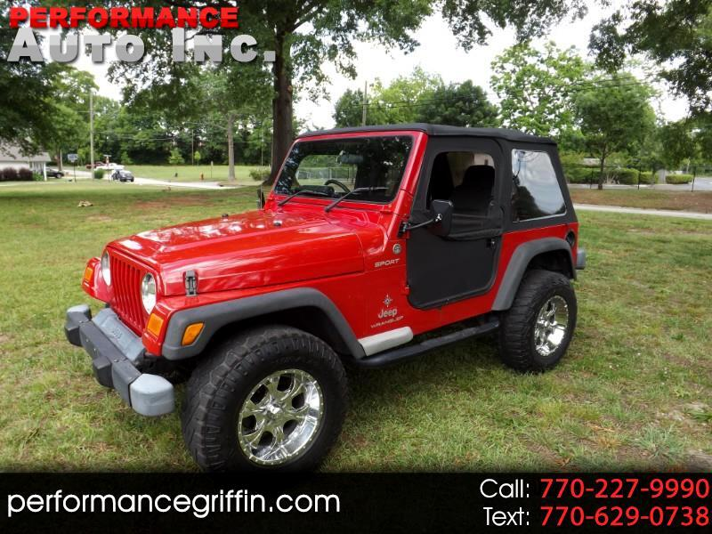 2006 Jeep Wrangler 2dr Sport Right Hand Drive