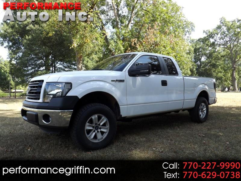 "2014 Ford F-150 2WD SuperCab 163"" XLT"