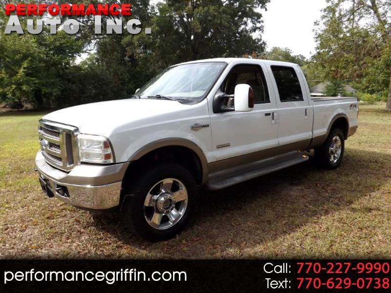 "Ford Super Duty F-250 Crew Cab 156"" King Ranch 4WD 2006"