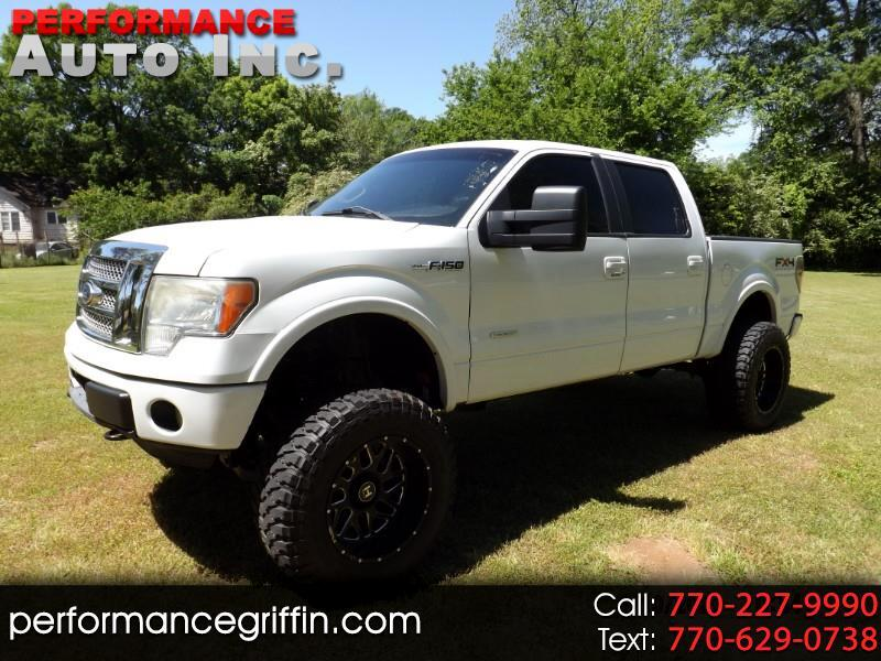 "Ford F-150 4WD SuperCrew 150"" XLT 2011"