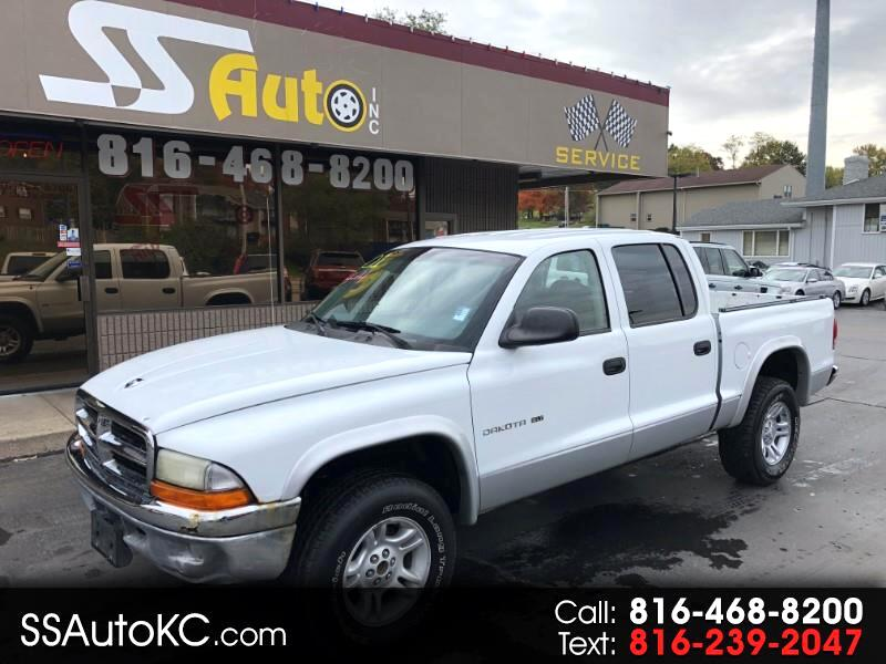 2001 Dodge Dakota 4dr Quad Cab 131 4WD SLT