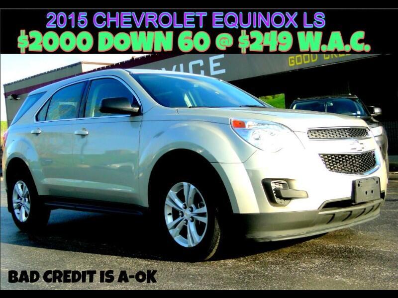 Chevrolet Equinox FWD 4dr LS 2015
