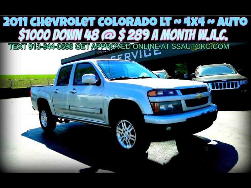Chevrolet Colorado 1LT Crew Cab 4WD 2011