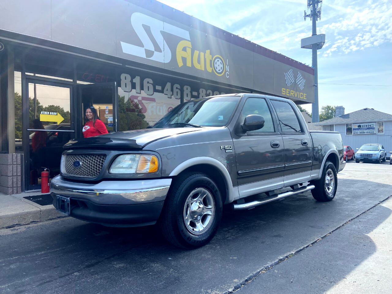 """Ford F-150 SuperCrew 139"""" King Ranch 2002"""