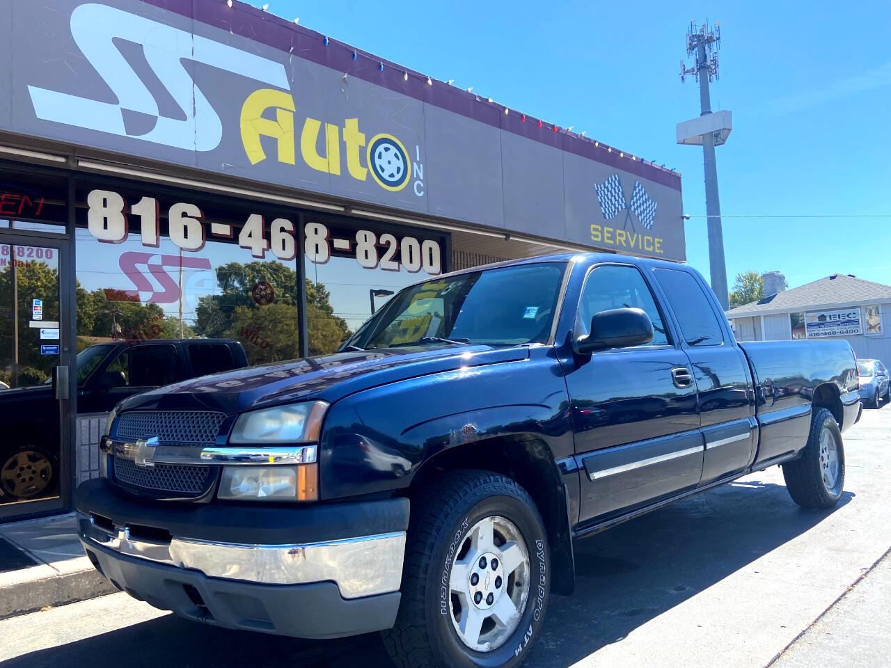 """Chevrolet Silverado 1500 Ext Cab 157.5"""" WB 4WD LS 2005"""