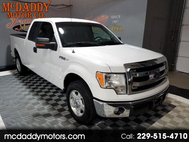 "2014 Ford F-150 2WD SuperCab 163"" XL"