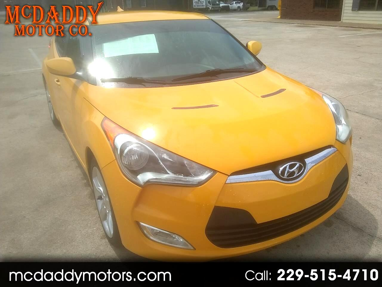 2013 Hyundai Veloster 3dr Cpe Man w/Black Int