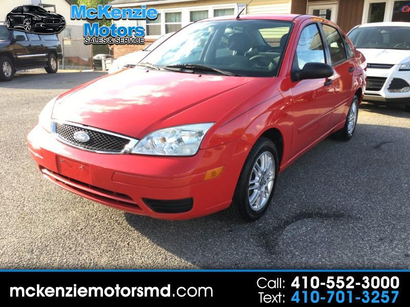 2007 Ford Focus ZX4 SES