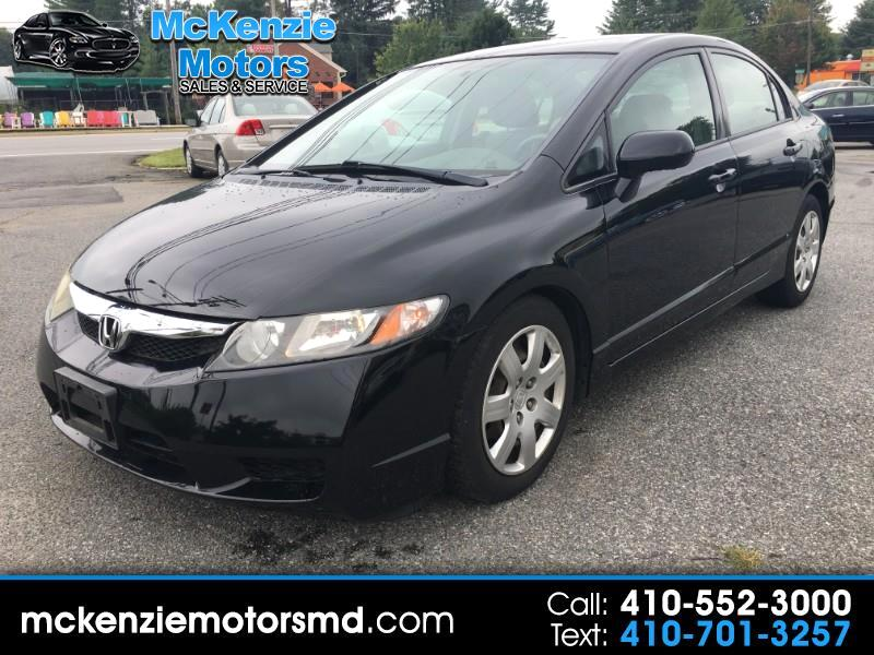 Honda Civic 4dr Sedan LX Auto 2009