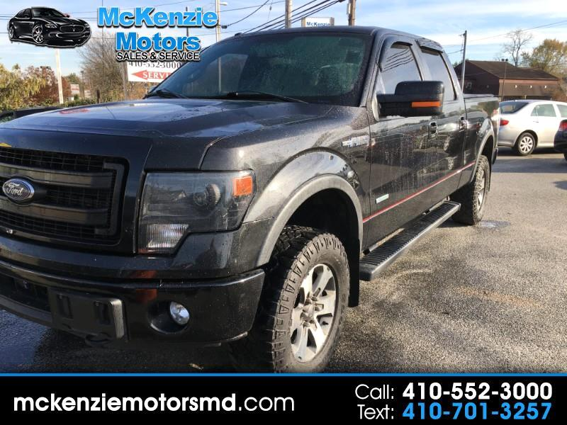 "Ford F-150 4WD SuperCab 133"" FX4 2014"