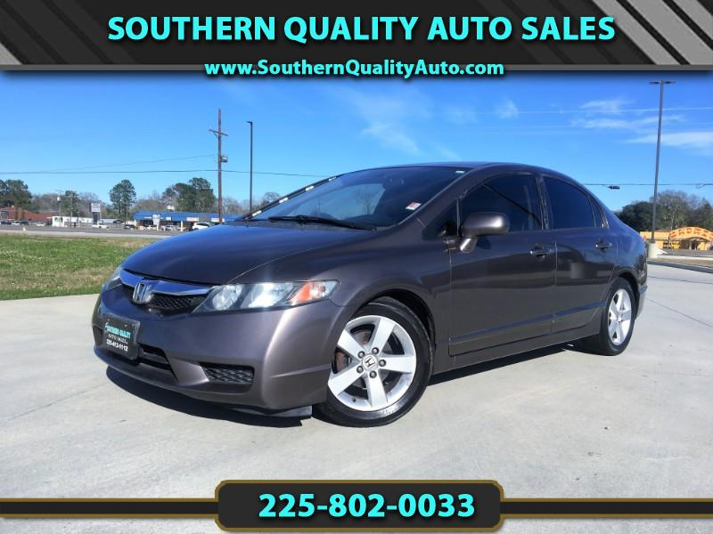 2011 Honda Civic LX-S Sedan 5-Speed AT