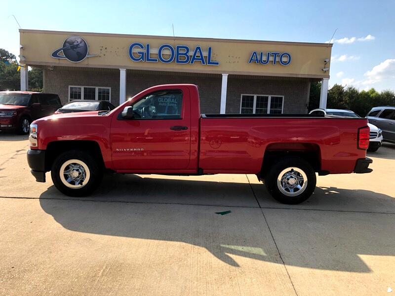 2016 Chevrolet Silverado 1500 Work Truck Long Box 2WD