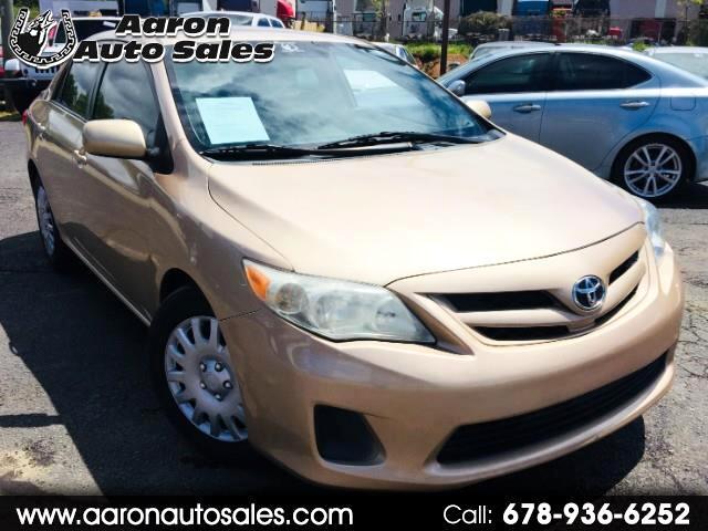 Toyota Corolla 4dr Sdn Auto LE (Natl) 2012