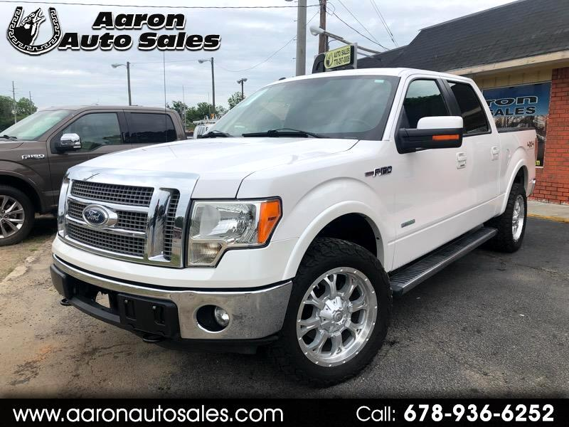 "2011 Ford F-150 Supercab 139"" 4WD Lariat"