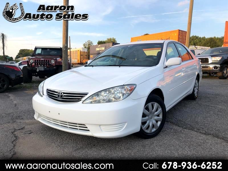 2005 Toyota Camry 4dr Sdn I4 Auto LE (Natl)
