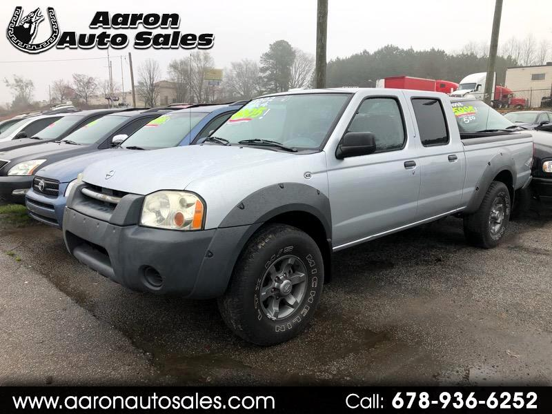 Nissan Frontier 4WD XE-V6 Crew Cab Long Bed 4WD 2002