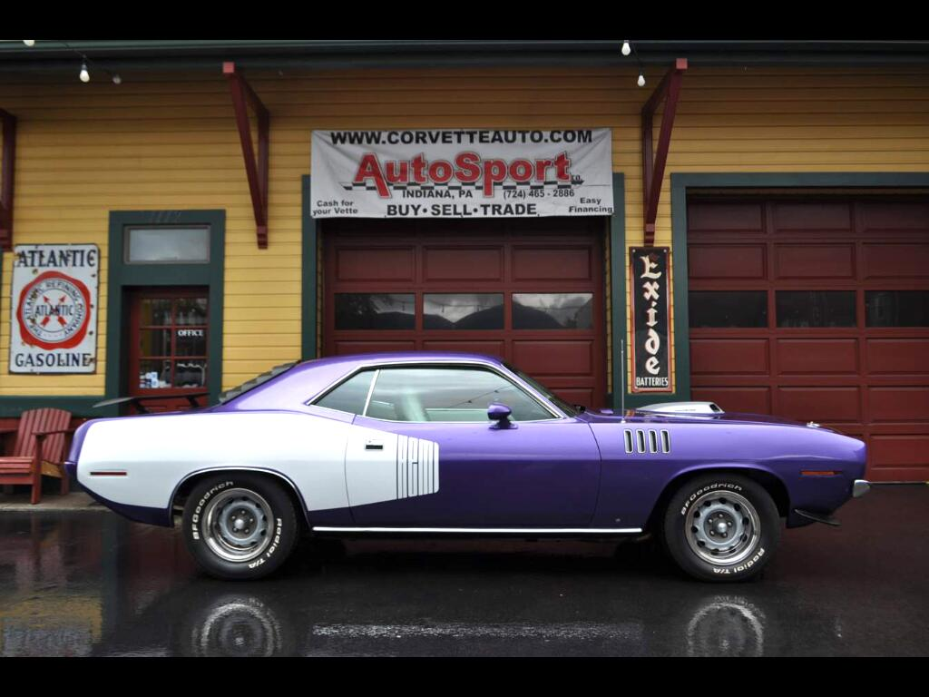 1971 Plymouth Cuda Plum Crazy Purple 426 Hemi Cuda!