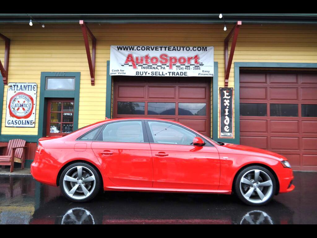 Audi A4 2.0T Sedan quattro Tiptronic 2012