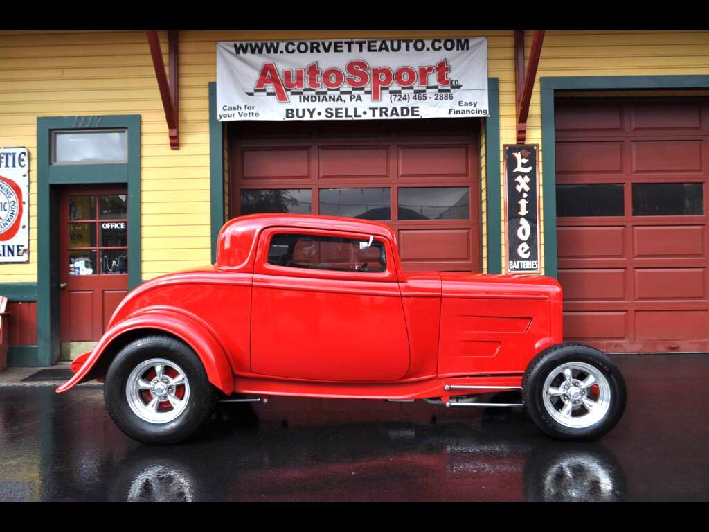 Model A 3 Window Deuce High Boy Coupe w/ Cold AC! | eBay