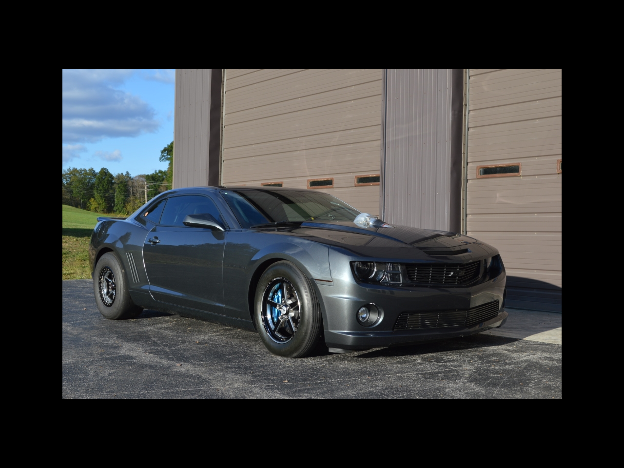 2010 Chevrolet Camaro 427ci Twin Turbo 1500hp Drag Car