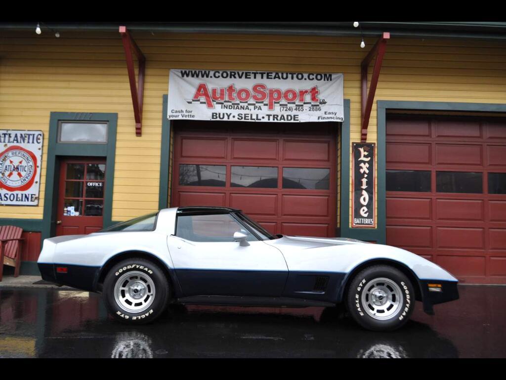 1981 Chevrolet Corvette 1981 4-speed 17k Miles! Org Window Sticker!