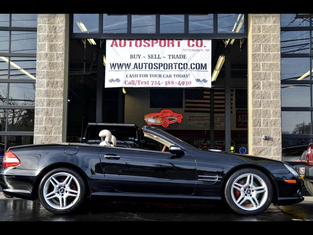 2007 Mercedes-Benz SL-Class SL550 w/AMG Package