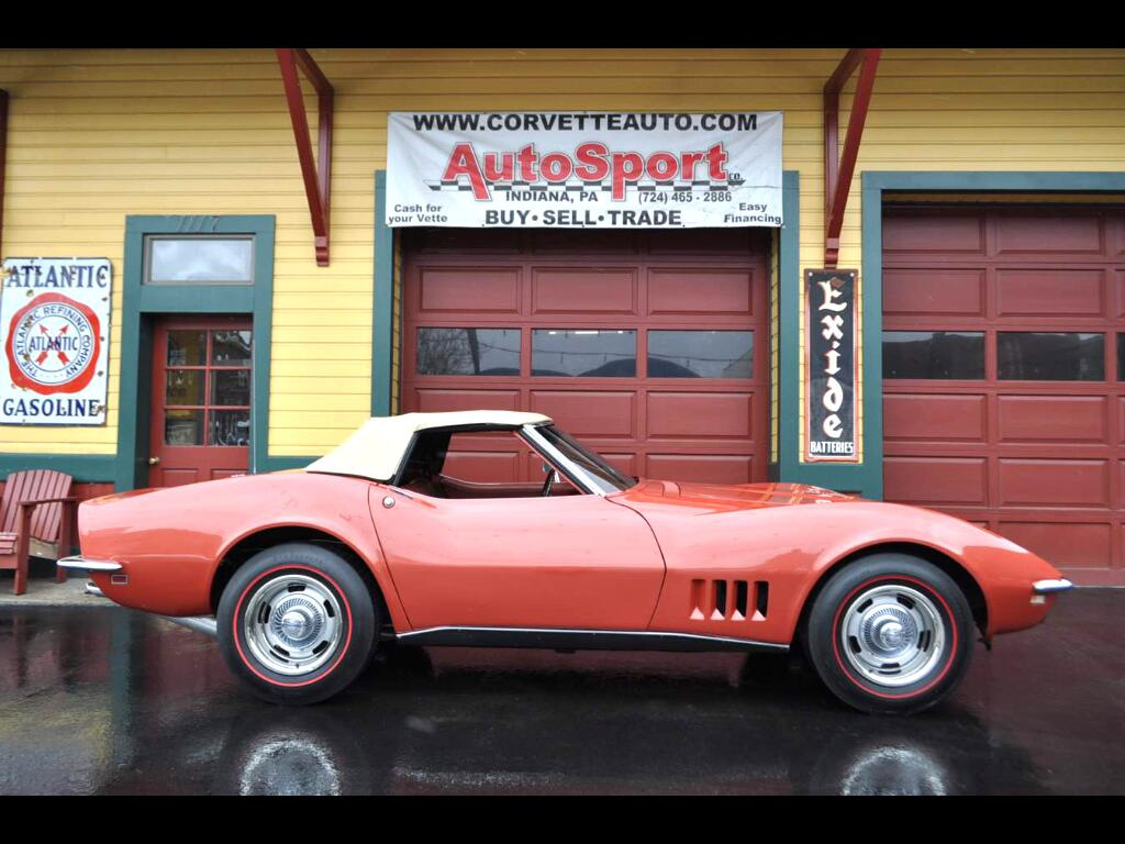1968 Chevrolet Corvette #'s Matching 350hp 4sp Frame Off Restoration