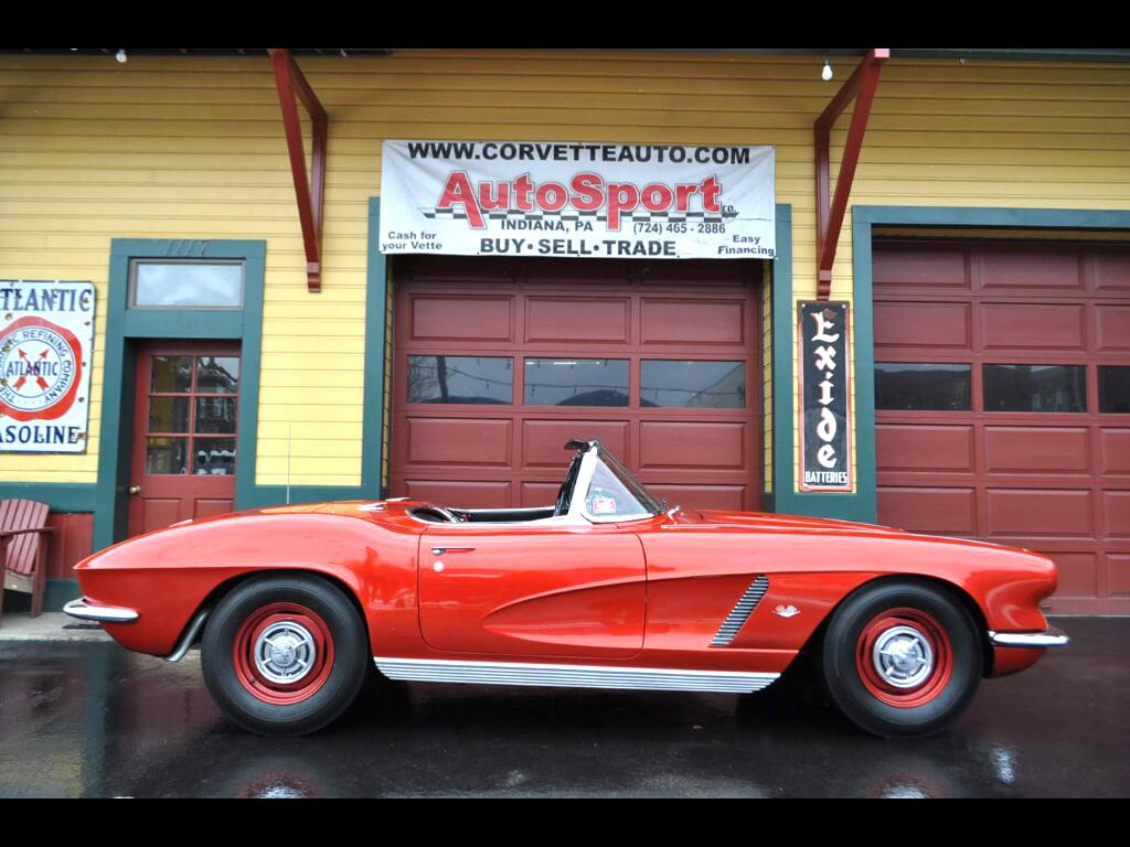1962 Chevrolet Corvette 1962 Frame Off Restored 340hp!