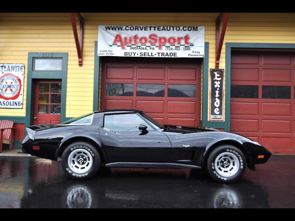 1979 Chevrolet Corvette L82 4-Speed Black Black All Orignal!